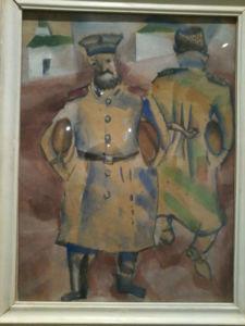 soldados-con-panes-marc-chagall-1914-15